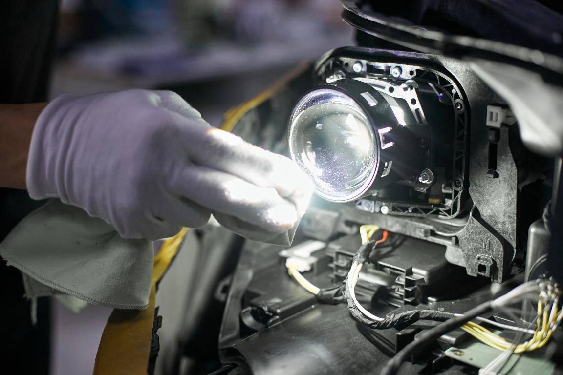 замена ламп в автомобиле